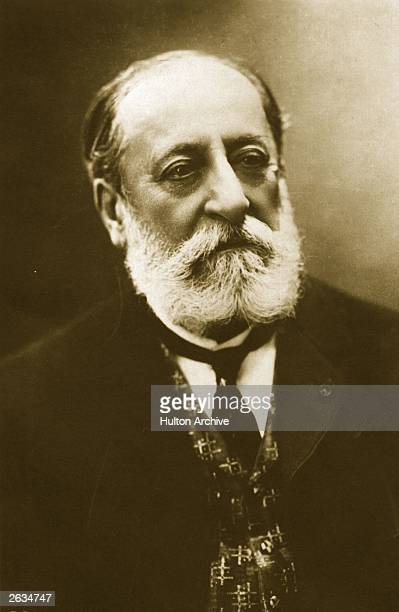 Camille SaintSaens the French composer and music critic