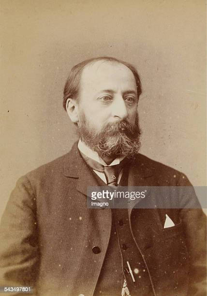 Camille SaintSaëns French pianist and organist and musicologist and composer About 1880 Photograph by Elliott Fry / London