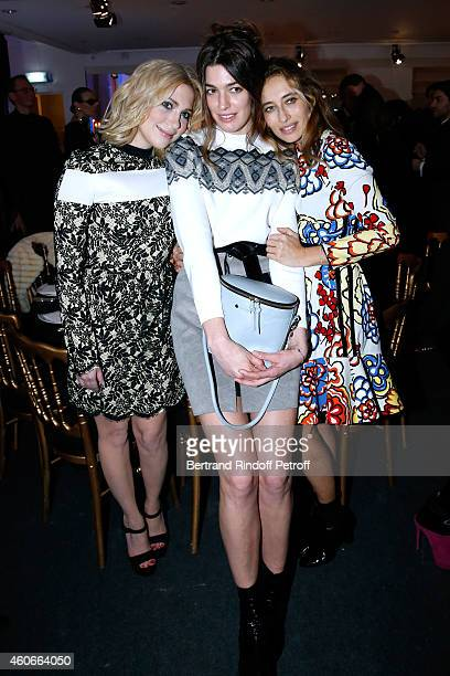 Camille Seydoux Antonine Peduzzi and Alexandra Golovanoff attend the Annual Charity Dinner hosted by the AEM Association Children of the World for...