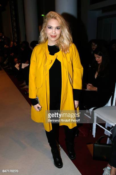 Camille Seydoux attends the Alexis Mabille show as part of the Paris Fashion Week Womenswear Fall/Winter 2017/2018 on March 2 2017 in Paris France