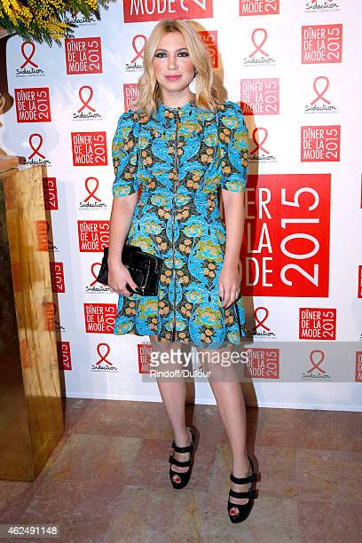 Camille Seydoux attends the Sidaction Gala Dinner 2015 at Pavillon d'Armenonville on January 29 2015 in Paris France