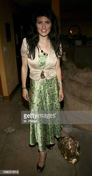 Camille Solari during Last Chance for Animals Fundraiser at Private in Beverly Hills CA United States