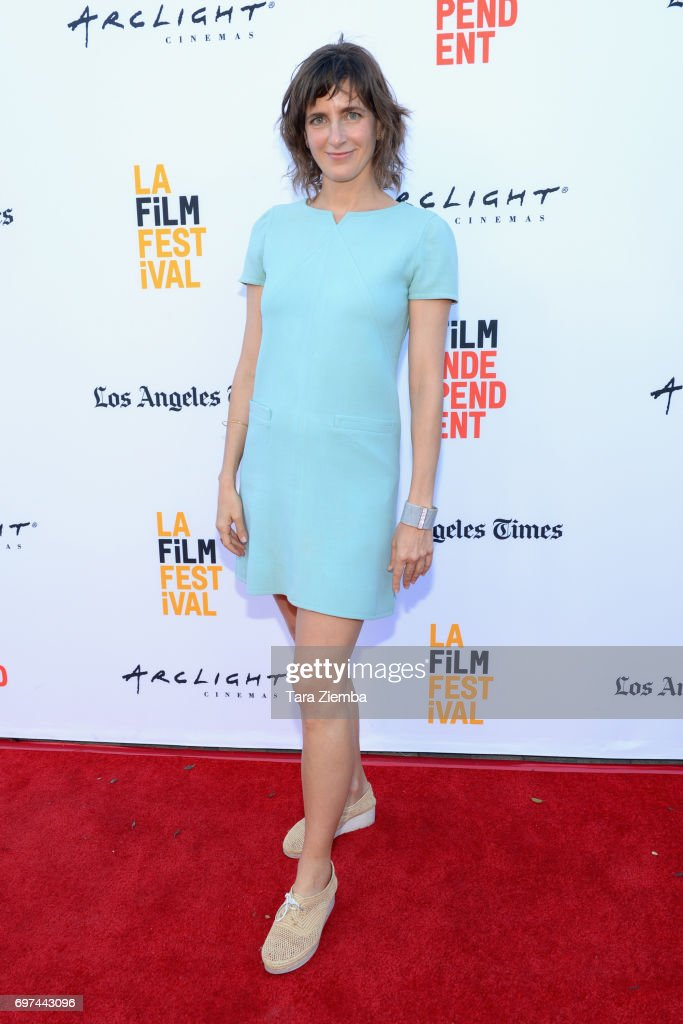Camille Thoman attends the premieres of 'Never Here' and 'Laps' during 2017 Los Angeles Film Festival at Arclight Cinemas Culver City on June 18, 2017 in Culver City, California.