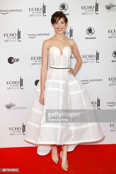 Camille Thomas attends the ECHO Klassik 2017 at Elbphilharmonie on October 29, 2017 in Hamburg, Germany.