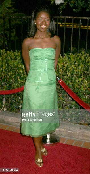 Camille Winbush during 2005 HERBIE Awards Presented by The Rhythm Blues Foundation at Century Club in Century City California United States