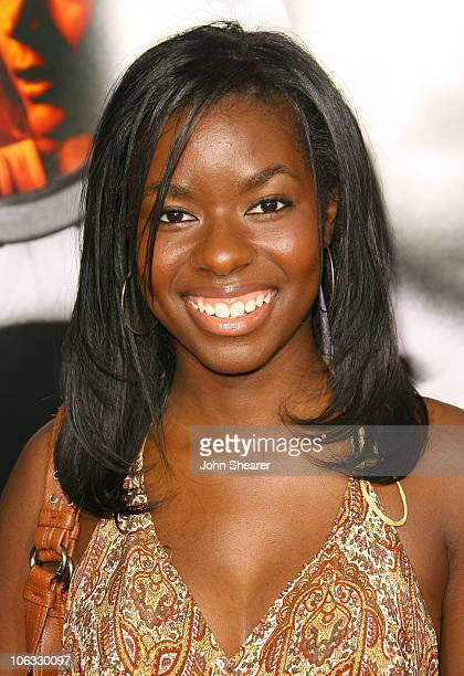 Camille Winbush during Disturbia Los Angeles Premiere Arrivals at Mann's Chinese in Hollywood California United States
