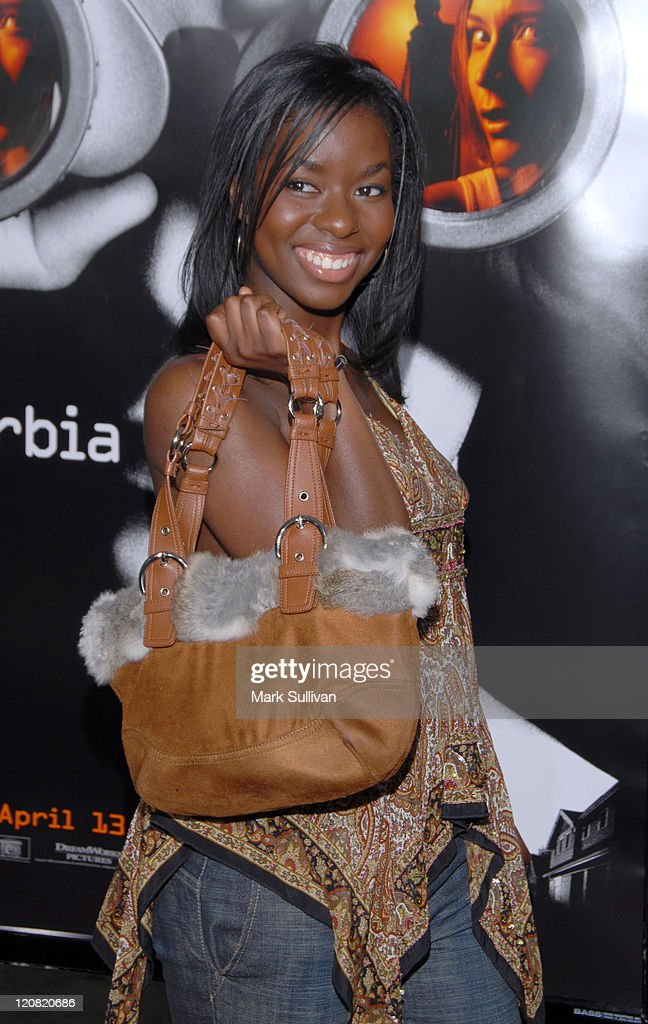 Camille Winbush during 'Disturbia' Los Angeles Premiere - Arrivals at Mann's Chinese in Hollywood, California, United States.