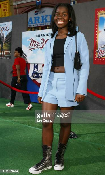 Camille Winbush during Mr 3000 Los Angeles Premiere Red Carpet at El Capitan Theatre in Hollywood California United States