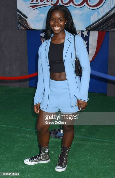Camille Winbush during Mr 3000 Premiere Los Angeles at El Capitan in Hollywood California United States