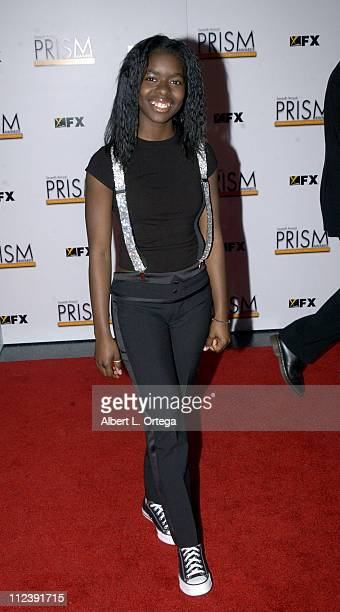 Camille Winbush during The 7th Annual PRISM Awards Arrivals at Henry Fonda Music Box Theater in Hollywood California United States