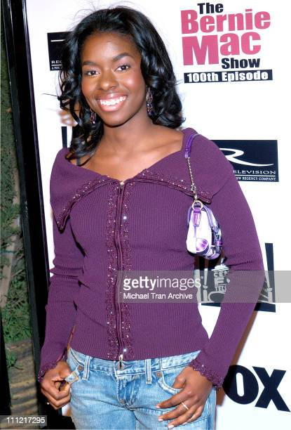 Camille Winbush during The Bernie Mac Show 100th Episode Celebration at Memphis in Hollywood California United States