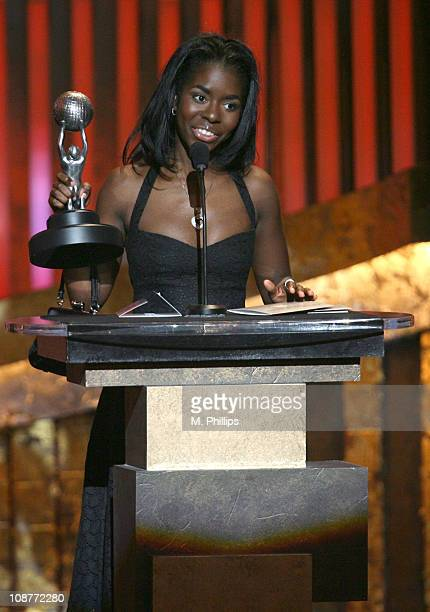 Camille Winbush winner of Outstanding Supporting Actress in a Comedy Series for The Bernie Mac Show