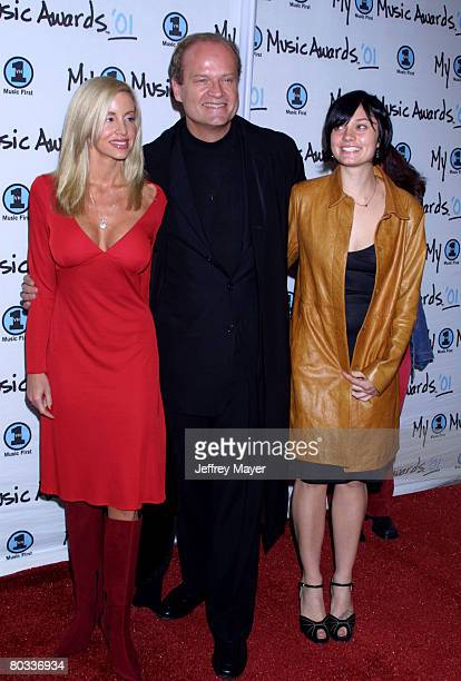 Camillle Grammer and Kelsey Grammer with daughter Spencer Grammer arriving at the My VH-1 Music Awards 2001 at the Shrine Auditorium in Los Angeles.