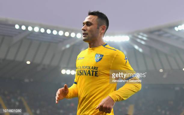 Camillo Ciano of Frosinone Calcio looks on during the Serie A match between Udinese and Frosinone Calcio at Stadio Friuli on December 22 2018 in...