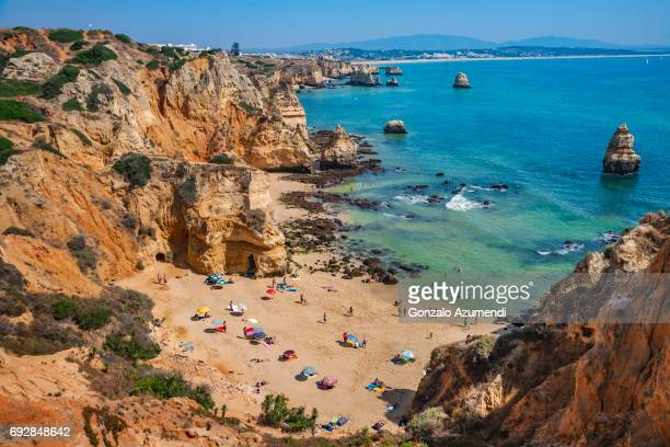 Camilo beach in Algarve