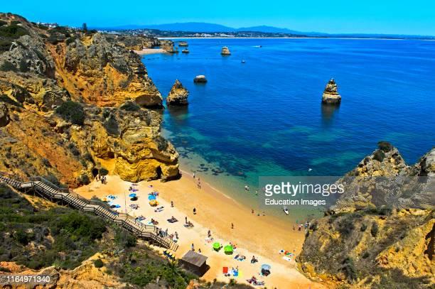 Camilo beach Praia do Camilo Lagos Algarve Portugal