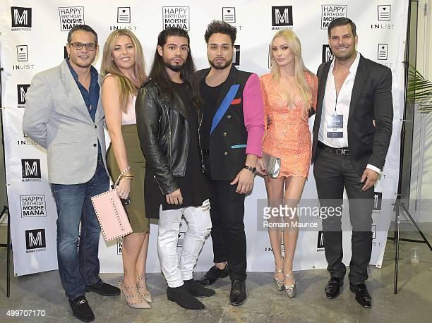 Camilo Bonet Helene Bonet Cesar Salazar and Robert Angel attend InList 1 Year Anniversary and Moishe Mana Birthday at Mana Wynwood on December 2 2015...