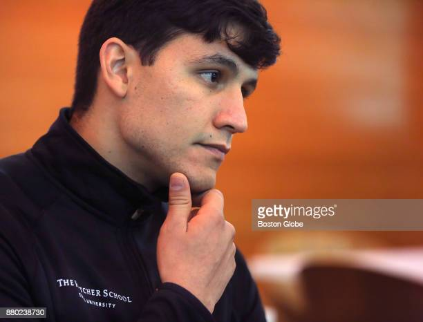 Camilo Caballero a grad student at Tufts University's Fletcher School of Law and Diplomacy who says he is being threatened with a lawsuit by former...