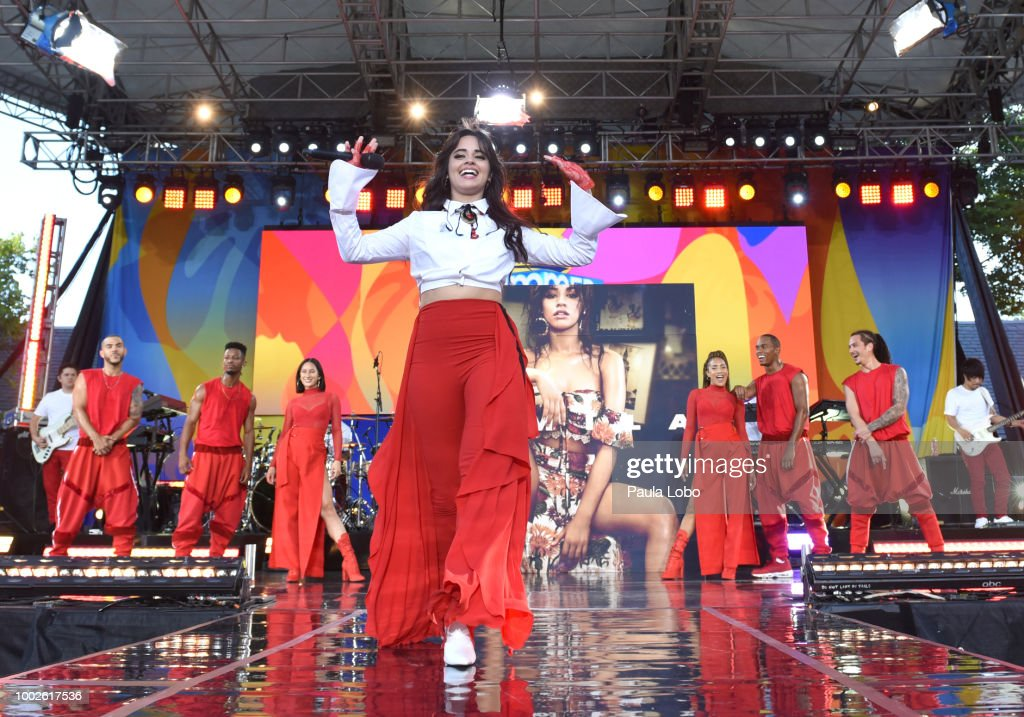 AMERICA - Camilo Cabello performs live from Central Park on 'Good Morning America,' as part of the GMA Summer Concert series on Friday, July 20, 2018 airing on the ABC Television Network. GMA18 CAMILA