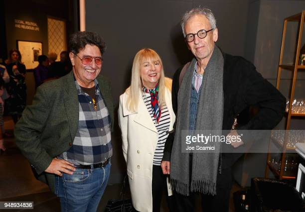 Camilo José Vergara Annie Kelly and Tim StreetPorter attend the Annenberg Space for Photography's 'Not An Ostrich' Exhibit Opening Party at the...