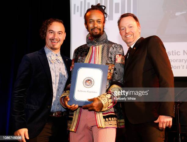 Camilo Landau Fantastic Negrito and Michael Winger attend the SF Chapter GRAMMY Nominee Celebration on January 22 2019 in San Francisco California