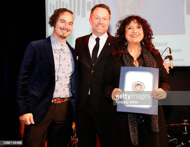 Camilo Landau Michael Winger Maria Muldaur attend the SF Chapter GRAMMY Nominee Celebration on January 22 2019 in San Francisco California