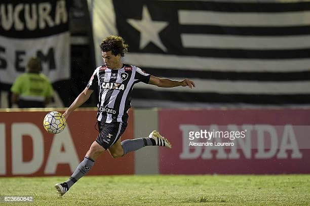 Camiloof Botafogo in action during the match between Botafogo and Chapecoense as part of Brasileirao Series A 2016 at Luso Brasileiro stadium on...
