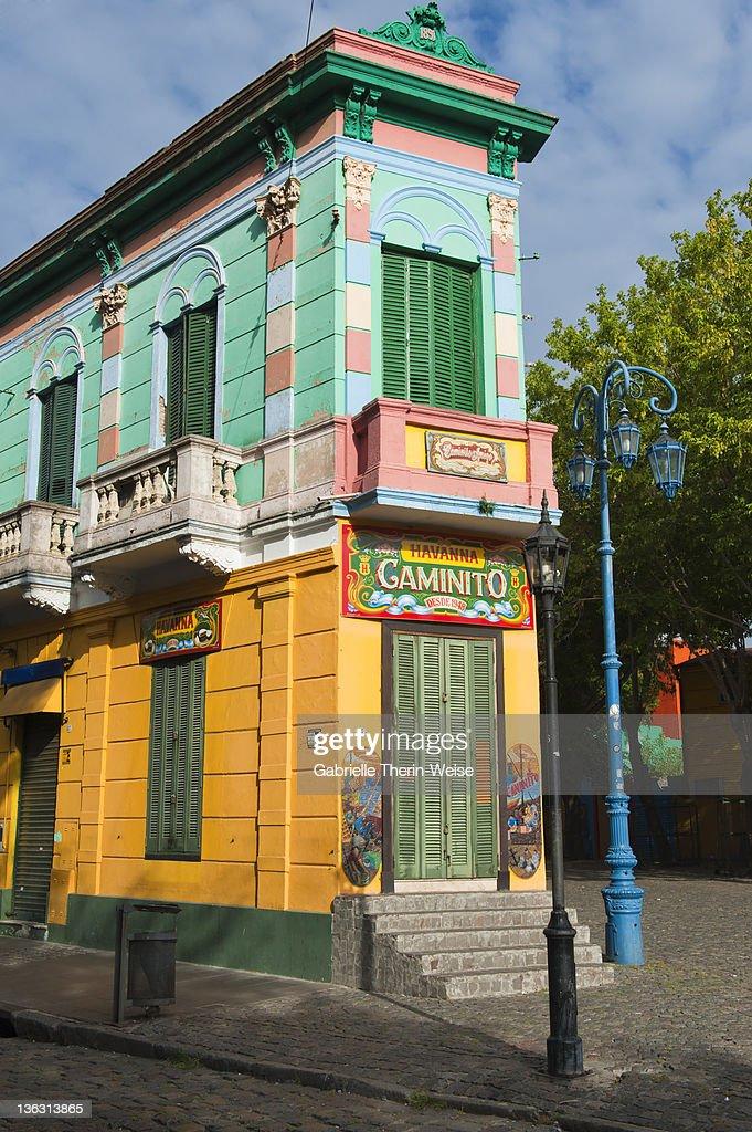 Caminito - La Boca - Buenos Aires : Bildbanksbilder