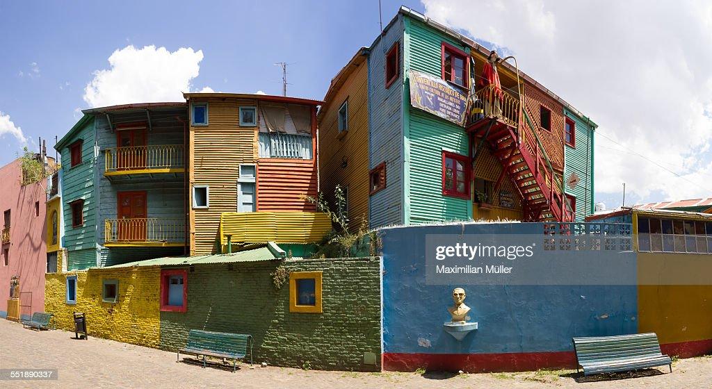 Caminito, La Boca, Buenos Aires : Stock-Foto