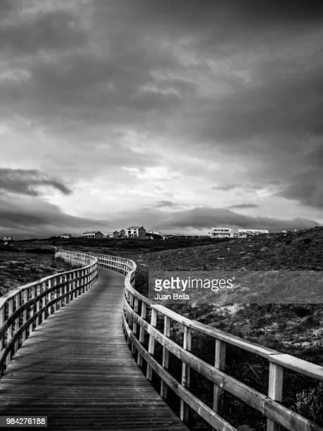 camino blanco y negro - blanco y negro photos et images de collection