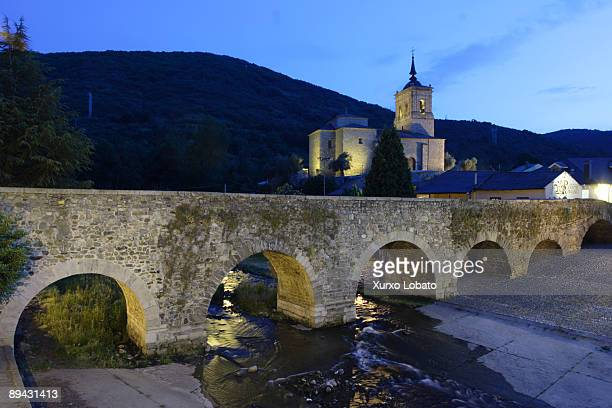 Camino de Santiago Bridge of Molinaseca Of Roman origin the bridge is wellknow as Pilgrims Bridge