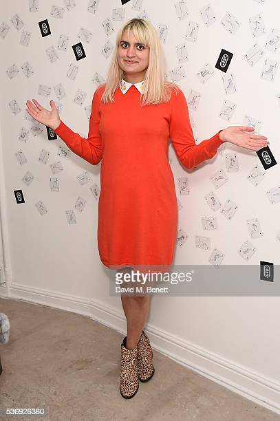 Camlle Bennet attends the LiudMila Pre Spring 17 Presentation hosted by Leandra Medine on June 1 2016 in London England
