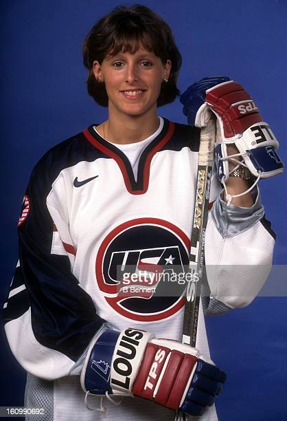Cammi Granato of Team USA poses for a portrait in August 1997