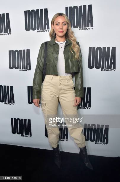 Cammie Scott attends UOMA Beauty Launch Event at NeueHouse Hollywood on April 25 2019 in Los Angeles California