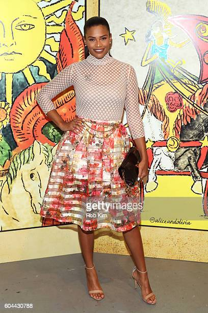 Cammy Crawford attends the Alice Olivia by Stacey Bendet Spring/Summer 2017 Presentation during New York Fashion Week September 2016 at Skylight at...