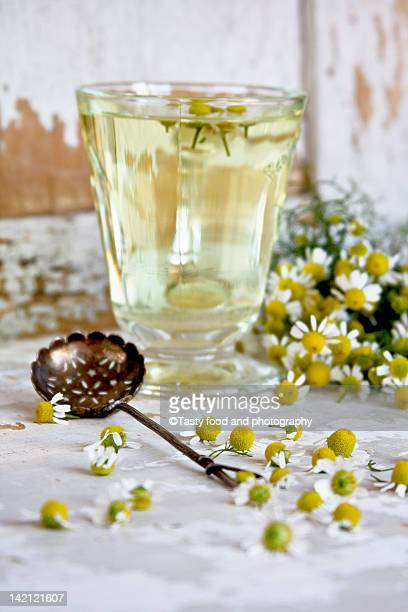 camomille tea - chamomile tea stock photos and pictures