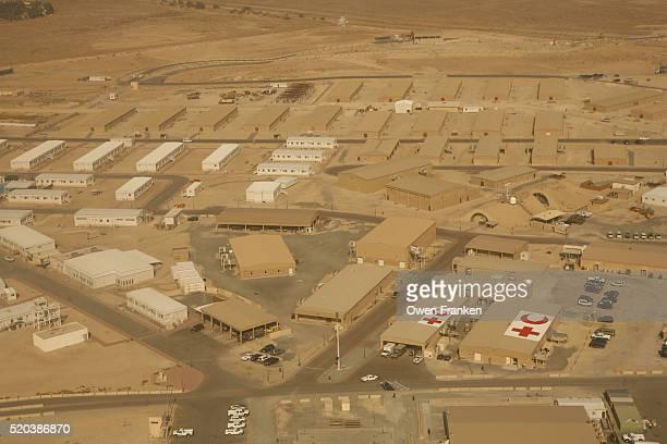 Camp Arifjan Military Base in Kuwait