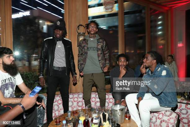 Camp attends IGA X BET Awards Party 2017 on June 24 2017 in West Hollywood California