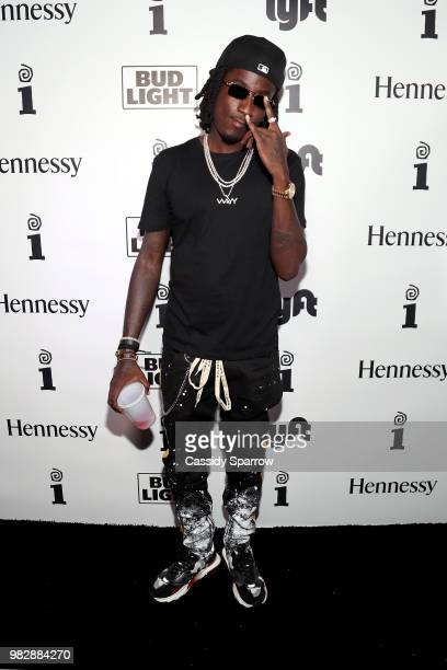 Camp attends IGA X BET Awards Party 2018 on June 24 2018 in Los Angeles California