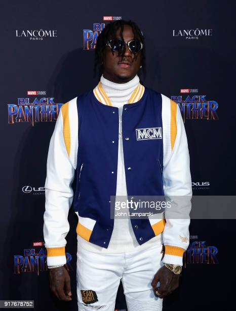 Black Panther Welcome To Wakanda during February 2018 New York Fashion Week The Shows at Industria Studios on February 12 2018 in New York City