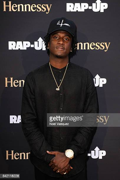 Camp attends the RapUp PreBET awards dinner presented by Hennessy at Hotel BelAir on June 21 2016 in Los Angeles California
