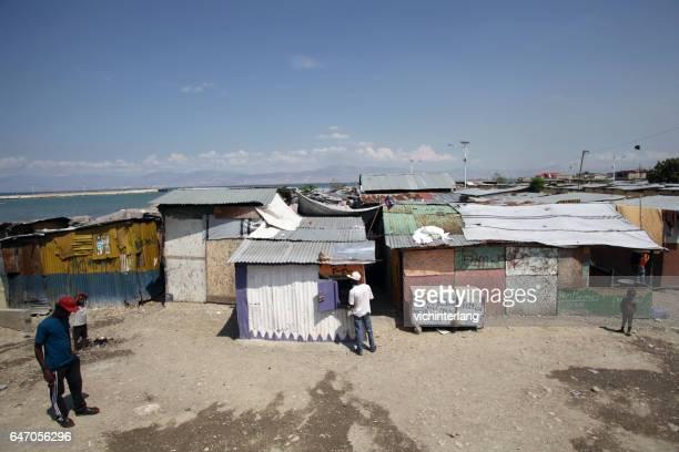 Camp Chavez, Port-au-Prince, Haiti, 24. Februar 2017