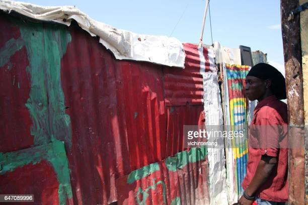 Camp Chavez, Port-au-Prince, Haiti, February 24, 2017