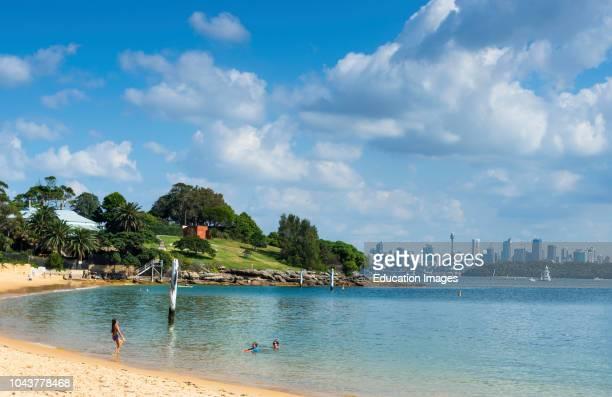 Camp Cove beach, Watsons Bay, Sydney, New South Wales, Australia.