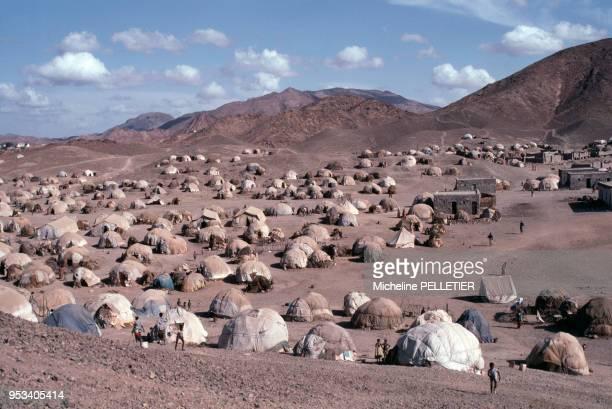 Camp de réfugiés somaliens en mai 1980 à Ali Sabieh Djibouti
