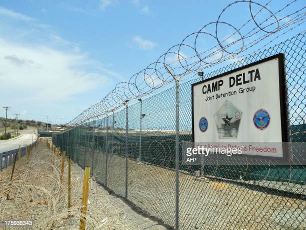Camp Delta at the US Naval Base in Guantanamo Bay Cuba on August 7 2013 AFP PHOTO/CHANTAL VALERY