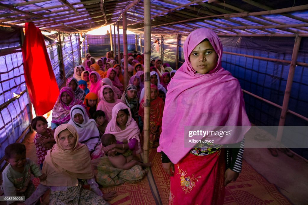 "Rohingya Women Find Safe Haven In ""Widow's Village"" At Cox's Bazar"