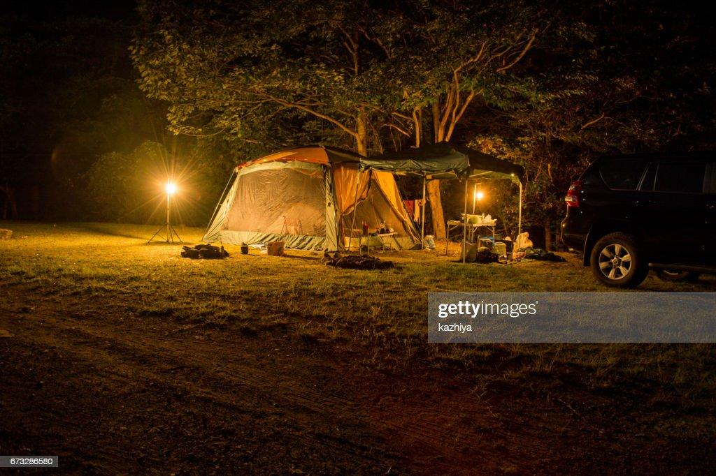 キャンプ : ストックフォト