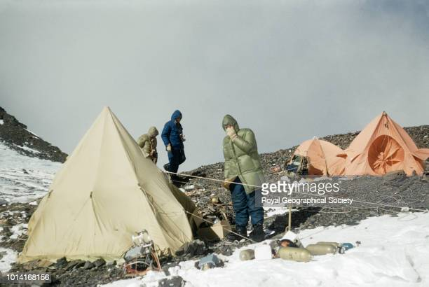Camp VIII at the South Col Nepal May 1953 Mount Everest Expedition 1953
