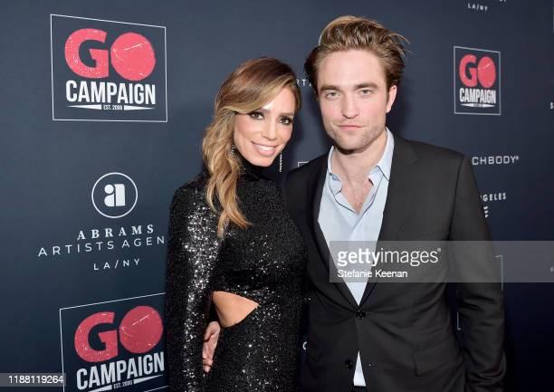 GO Campaign Director of Development Gina Katz and Robert Pattinson attend the GO Campaign Gala 2019 on November 16 2019 in Los Angeles California